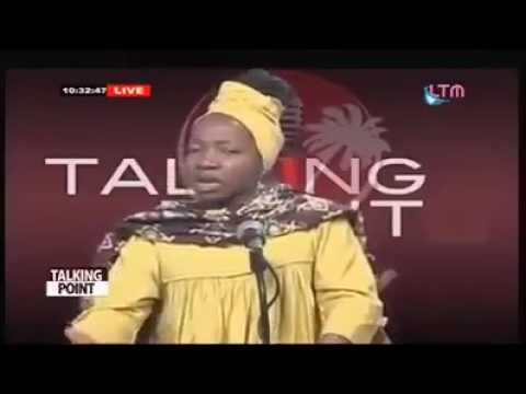 Kah Walla - No support for 2 State Federation Or Restoration which she call it secession