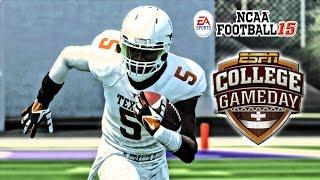 NCAA Football 15 - (XB360) -1080p HD - | Texas at (11)Kansas | Swoopes & J.Turner Party