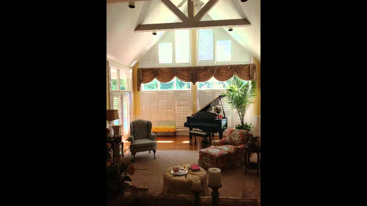 Sunshine Drapery Atrium Window Treatments Youtube