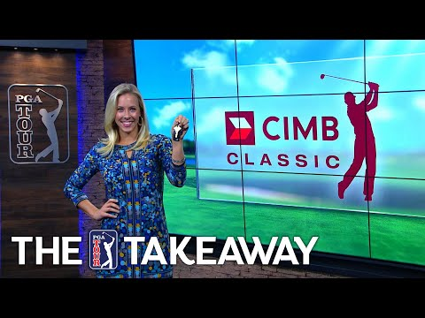 JT tries to hit his caddy, Kim wins a new car & monkeys on the course