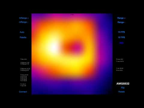 Thermal Camera (AMG8833) Raspberry Pi by PiddlerInTheRoot