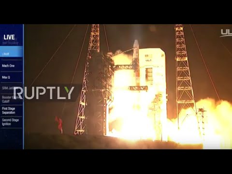 USA: Delta 4 rocket launches two military satellites from Cape Canaveral