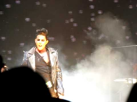 Adam Lambert, Whole Lotta Love, American idols Live 2009, Manchester, NH