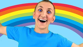Colors Song for Kids + More Funny Stories | Super Simple Nursery Rhymes. Sing Along With Tiki.
