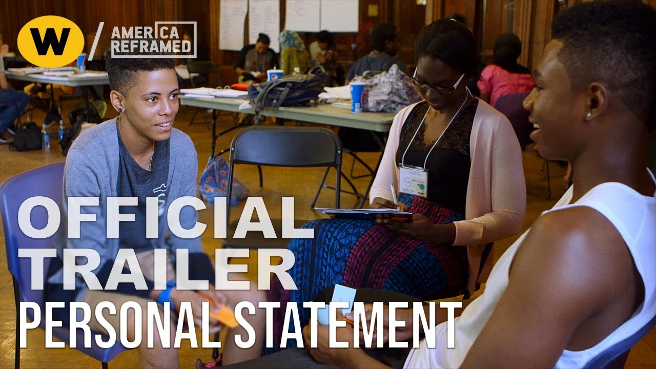 Personal Statement Official Trailer America Reframed Youtube