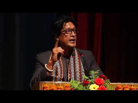 Speech by Rajesh Hamal, GCM orientation 2074