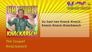 Tim Toupet - Knackarsch ++ BALLERMANN.TV KARAOKE