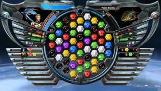 Puzzle Quest Galactrix Game Play