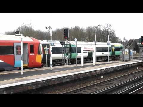 Trains at: Gatwick Airport, BML, 22/02/16 Part 2