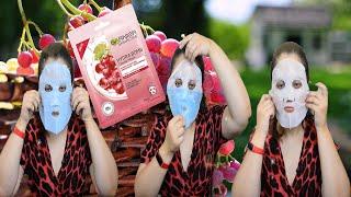 Тест драйв Garnier Skin Naturals Hydra Bomb Тканевая маска для лица Увлажнение Уход