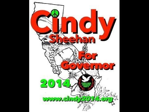Cindy Sheehan speaks at Poor People