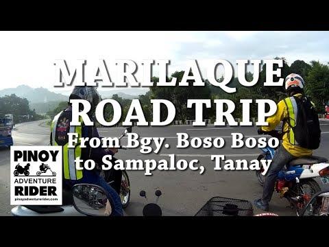 MARILAQUE ~ Bgy. Boso-boso to Sampaloc,Tanay  Road Trip