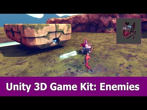 Unity 3D Game Kit Tutorial : Enemies thumbnail
