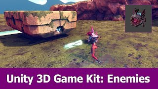 Unity 3D Game Kit Tutorial : Enemies