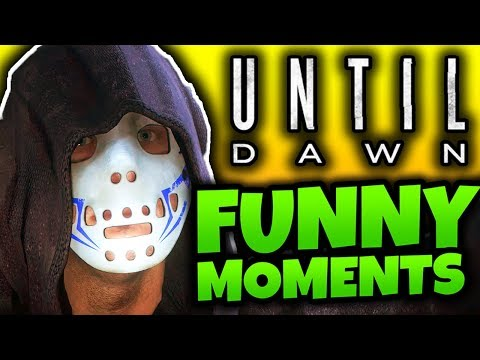 GETTING SPOOKED! - Until Dawn Funny Moments