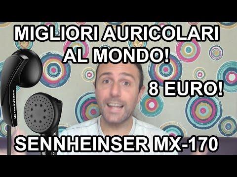 I migliori auricolari economici! Sennheiser MX170 - recensione