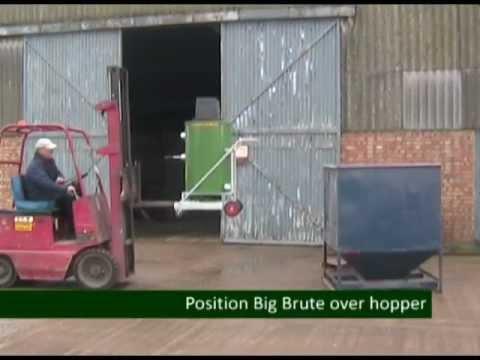 Big Brute Industrial Vacuum Cleaners   Grain and Animal Feed