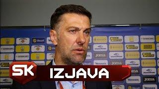 Mladen Krstajić Nakon Poraza Srbije 5:0 od Ukrajine   SPORT KLUB FUDBAL