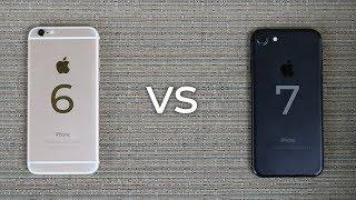iPhone 6 vs iPhone 7 - 2018 Comparison