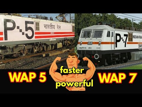 WAP 5 vs WAP7 which is more faster and powerful