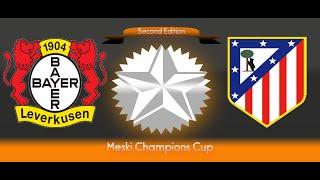 PES6 2nd Meski Champions Cup - Bayer Leverkusen vs Atlético Madrid : Group F MD4