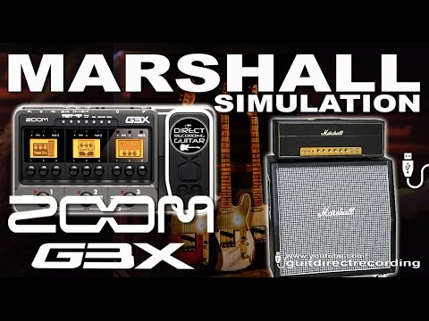 ZOOM G3 MARSHALL PLEXI CRUNCH Guitar Patches [presets].
