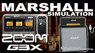 Download Video ZOOM G3 MARSHALL PLEXI CRUNCH Guitar Patches [presets]. MP3 3GP MP4