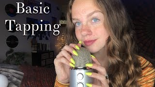 ASMR Tapping on Objects *LONG NAILS