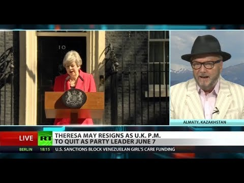 RT America: Boris Johnson 'best bet' for Tories after May quits – Galloway