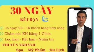 REVIEW 30 NGÀY KẾT BẠN TRÊN ZALO CÓ ĐƯỢC 1K KHÁCH HÀNG TIỀM NĂNG screenshot 3