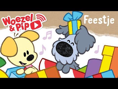 gefeliciteerd woezel en pip Woezel & Pip   Liedjes   Feestje   YouTube gefeliciteerd woezel en pip