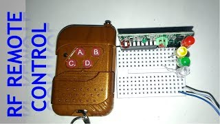 RF Remote Controller and Receiver Testing | 2262 & 2272 IC
