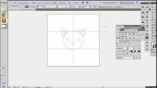 Видеоурок Flat design создание персонажа в Adobe Illustrator