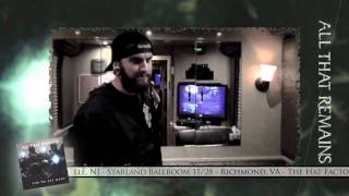 All That Remains - Share The Welt Tour Dairy: Episode 4