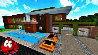 UNE IMMENSE MAISON MODERNE AUTOMATISÉE ! | Redstone House 3 ! thumbnail