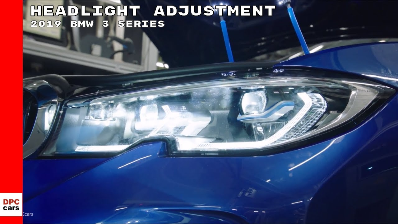 2019 Bmw 3 Series M340i Headlight Adjustment