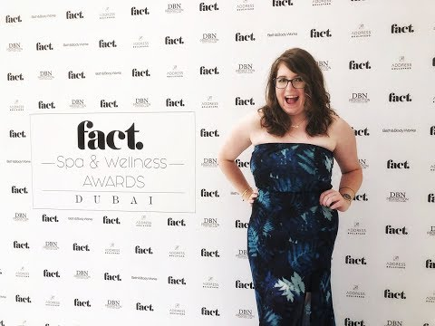 CAN'T BELIEVE THEY WON!! | FACT Spa & Wellness Awards Dubai
