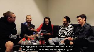 Tokio Hotel - Interview Part 1 (2017) с РУССКИМИ субтитрами