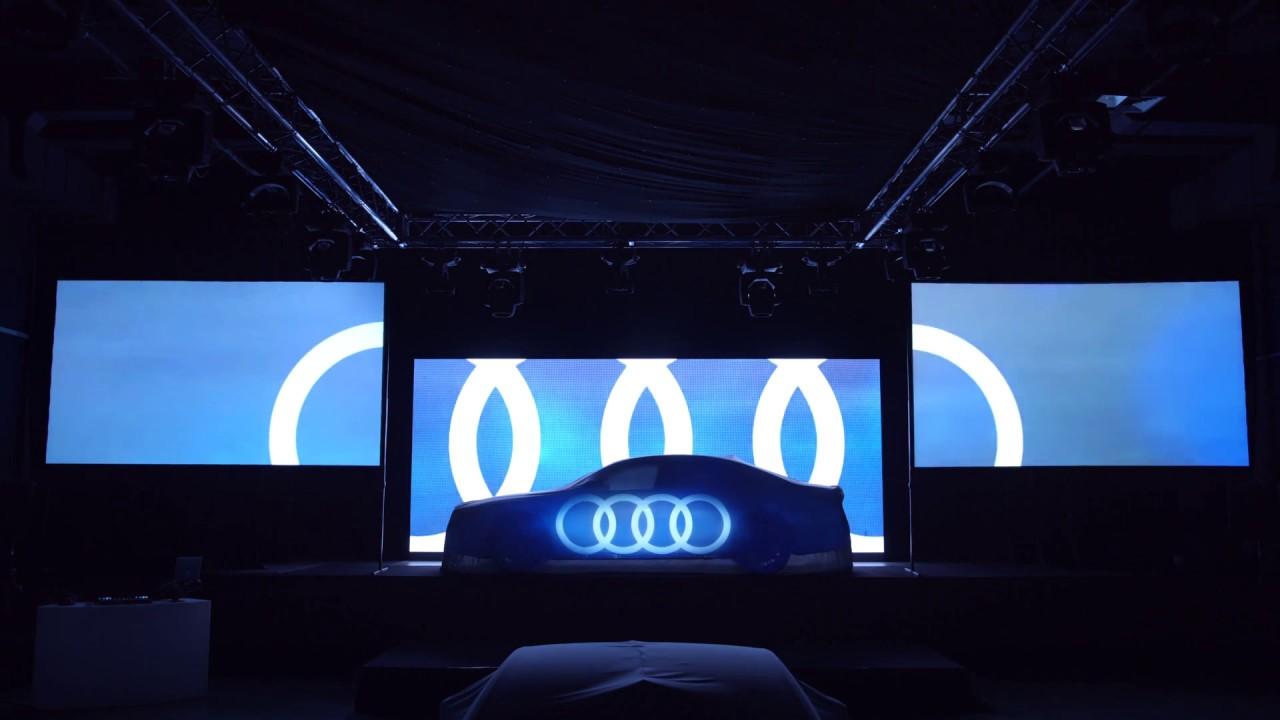 Audi Future Space 2018 - Panasonic Corporation 2018-06-21 04:51
