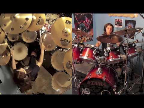 Drum cover Iron maiden Aces High Maxim Roy