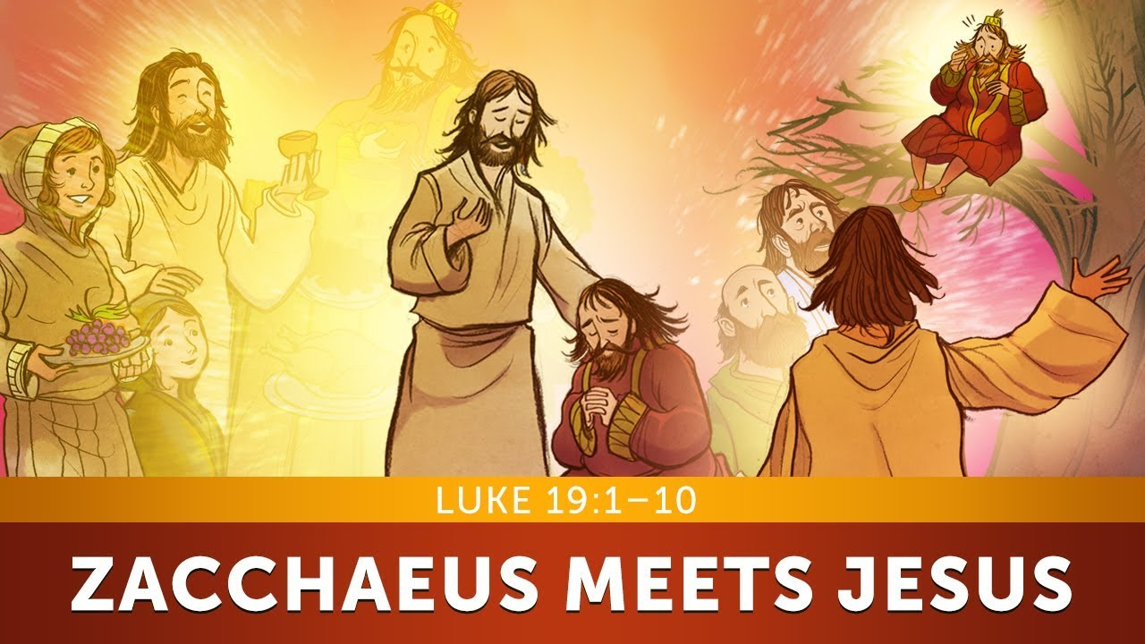 The Story of Zacchaeus - Luke 19 | Sunday School Bible Lesson for ...