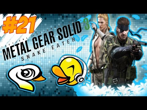 Metal Gear Solid 3 - LET'S PLAY! CQC MASTER! #21 DATW