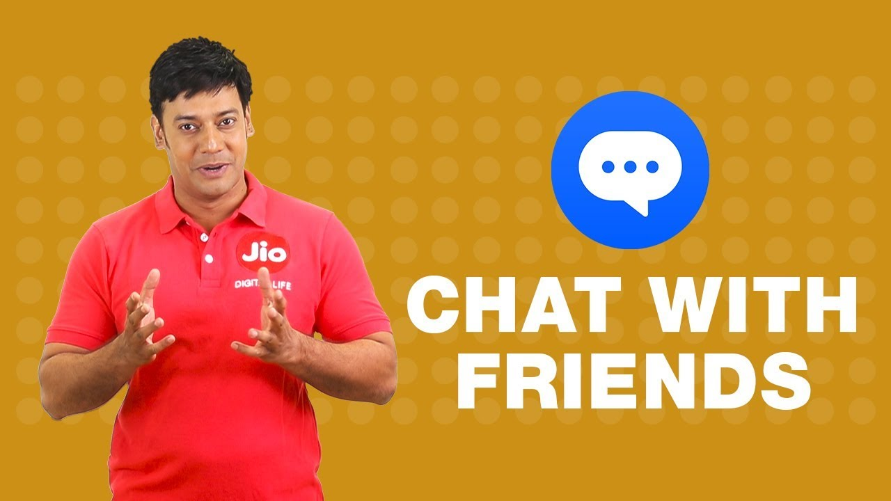 Jio Chat - How to Chat with friends using Jio Chat App (Hindi) | Reliance  Jio