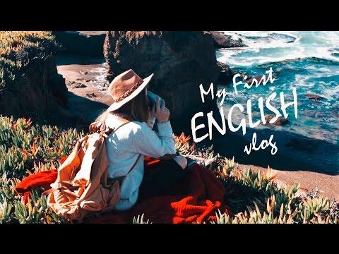 My first English vlog! Photoshoot. Workout . California. Acting.