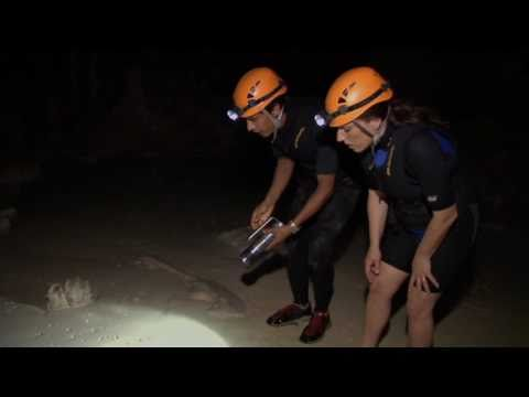 Eco Travel - Jungle Cave Exploration and Spelunking Under Water