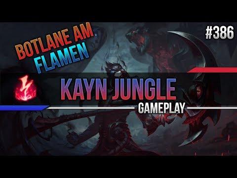 Kayn (Jungle): Botlane am Flamen #386 [Lets Play] [League of Legends] [German / Deutsch]