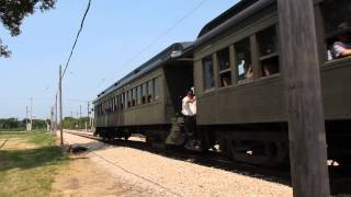 Illinois Railway Museum - Milwaukee Road 118-C passenger train - 06/30/2012