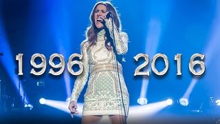"""Video Celine Dion and the way to end """"All By Myself"""" with high notes through out the years download MP3, 3GP, MP4, WEBM, AVI, FLV September 2018"""