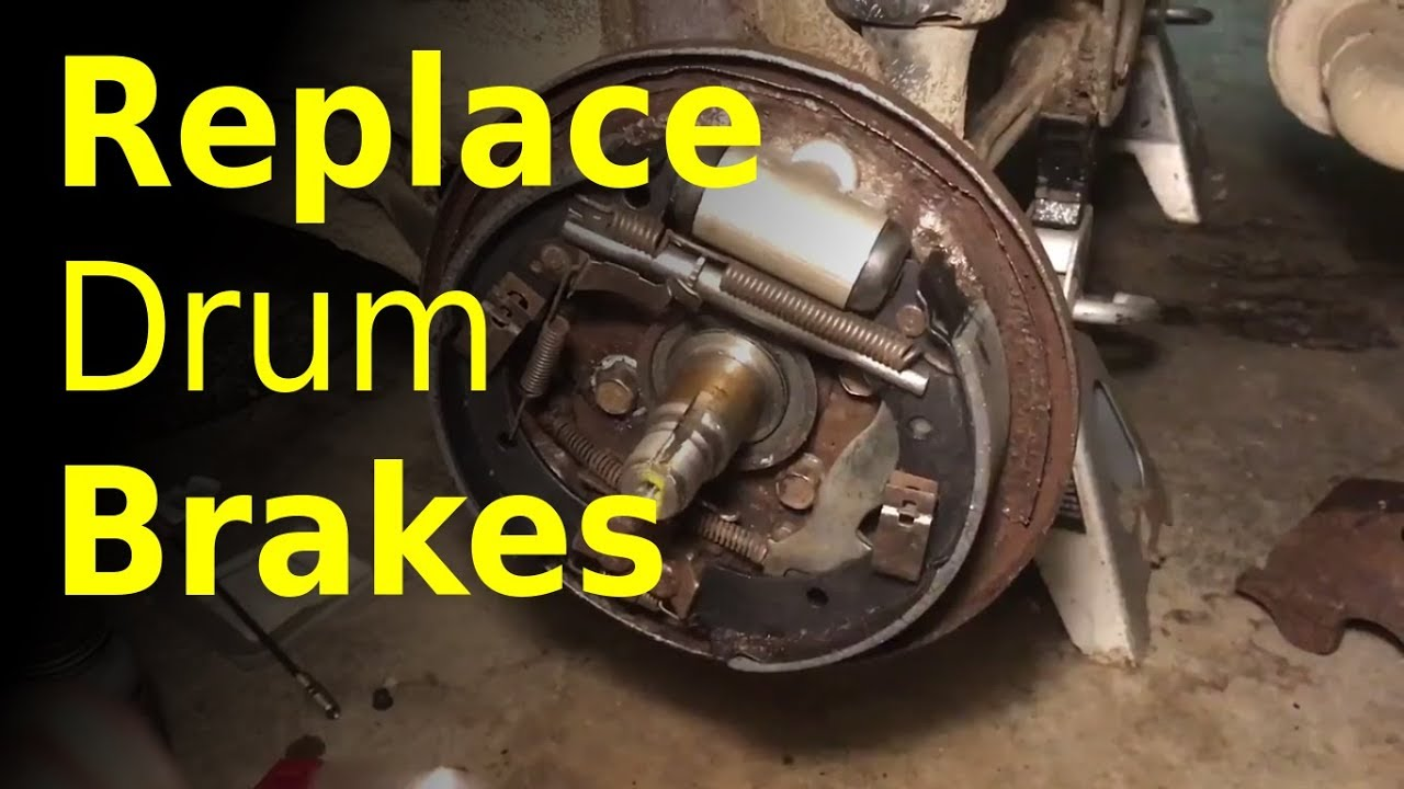 how to change brake shoes