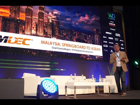 Malaysia - Digital ASEAN Springboard: Gopi Ganesalingam, MDEC - WD SEA 2018